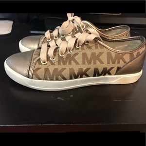 Micheal Kors City Sneakers Logo Tennis Shoes